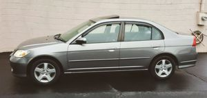 Clean CARFAX,.>2OO5 Honda Civic for Sale in Killeen, TX