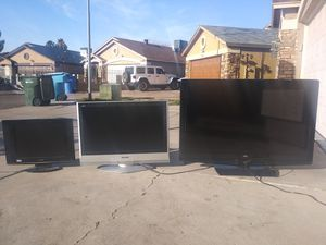 24-inch and 37-inch and 50-inch televisions on televisions have no remote control work very well for Sale in Phoenix, AZ