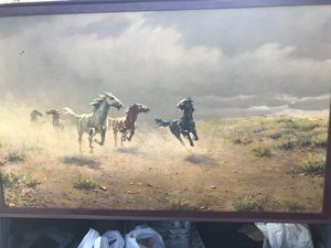Vintage famous llithographic print for Sale in Vacaville, CA