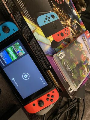 Complete Nintendo Switch Bundle for Sale in Glendale, AZ