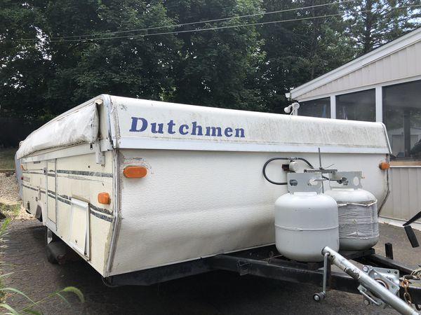 1995 Dutchmen pop up camper