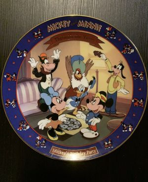 "Walt Disney ""Mickey's Birthday Party"" 1942 Premier Plate for Sale in Columbus, OH"