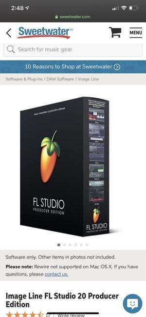 FL Studio 20 (MAC) for Sale in Richmond, VA