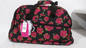 New betsey Johnson rolling duffle bag for Sale in West Chicago, IL