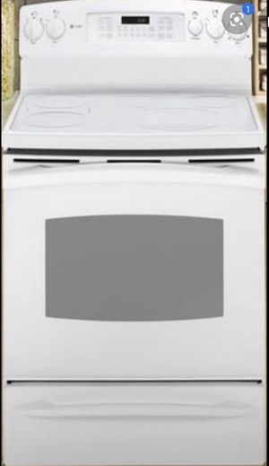 Ge glass top electric range/stove plus oven for Sale in San Jose, CA