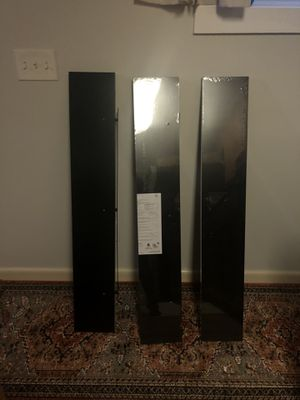 Black wall shelves for Sale in Norfolk, VA