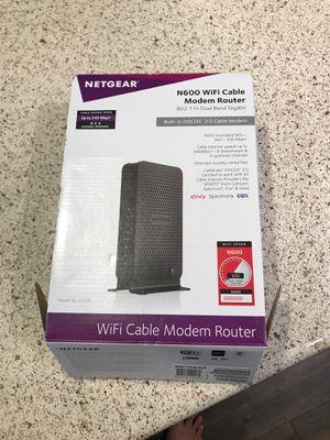 New Netgear N600 WiFi modem router for Sale in San Diego, CA