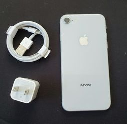 iPhone 8, !Factory Unlocked..Full fresh Like new & This phone comes with accessories... for Sale in Springfield,  VA