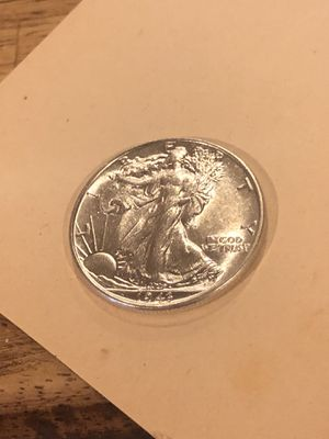 Proof like 1943 Walking Liberty Half Dollar BU for Sale in Kirksville, MO