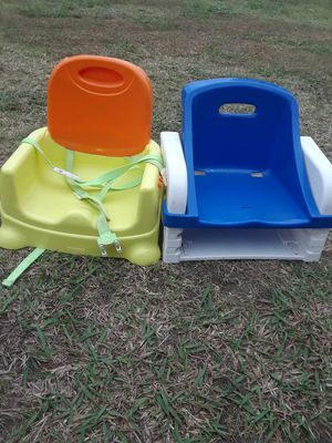 Booster seat 8. For Both for Sale in Princeton, TX