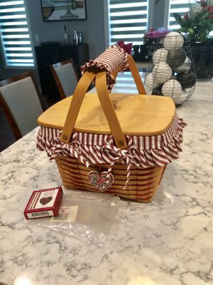 Longaberger 1999 Precious Treasures Basket Set for Sale in Strongsville, OH