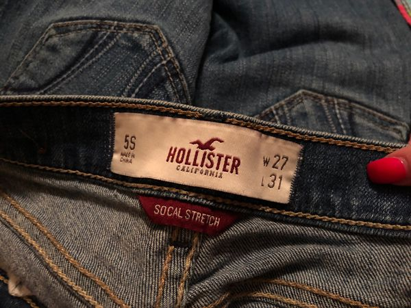 Hollister jeans and shorts