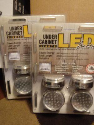Two-New plug inn under counter led lights for Sale in Nashville, TN