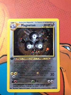 Pokemon card Magneton Holo 1st Edition for Sale in Orange, CA