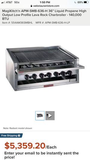 Restaurant bbq grill for Sale in Las Vegas, NV