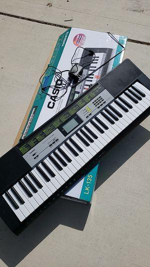 Casio Key Lighting Keyboard Piano 61 Keys LK-135 for Sale in Fresno, CA