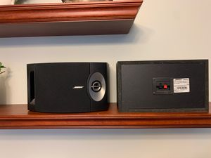 Bose bookshelf speakers. Model 201 for Sale in South Brunswick Township, NJ