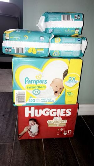 Baby diapers for Sale in St. Petersburg, FL