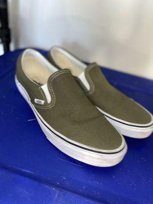 Vans shoes slip Ons. Size:11.5 for Sale in College Station, TX