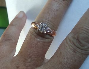 1-Carat Diamond/Two-Toned Gold Engagement Ring for Sale in Denver, CO