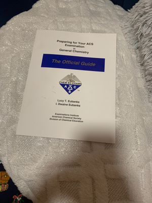 ACS General Chemistry (The official guide) for Sale in Lorton, VA