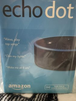 Amazon Echo Dot (2nd Generation) - BRAND NEW for Sale in Nashville,  TN