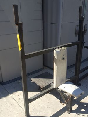 Olympic weight shoulder / military press bench for Sale in Corona, CA