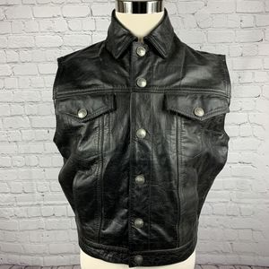 UNIK motorcycle leather riding vest for Sale in Fontana, CA
