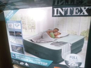 Premium Blow up bed with pump for Sale in Atlanta, GA