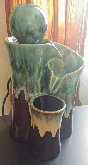 Pier 1 ceramic table fountain for Sale in Mundelein, IL