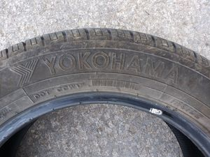 2 Yokohama Tires - P195/60R16 for Sale in Riverton, VA