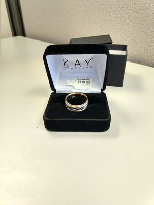 Kay Jewelers Mens Wedding Ring Band Size 8 for Sale in Laurel, MD
