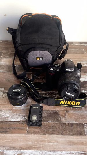 Nikon camera with two lenses. for Sale in New York, NY