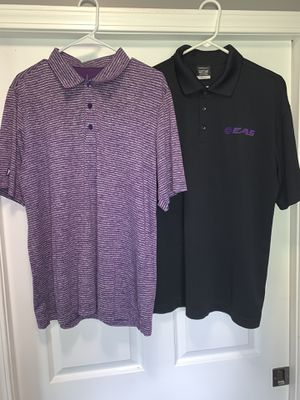 Golf 🏌️‍♀️ shirts size L (2) x $16.99 for Sale in Cadwell, GA