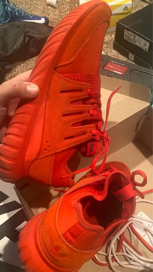 Adidas Tubulars all red for Sale in Haysville, KS