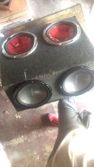 4 12s speaker box for Sale in Riverdale, IL