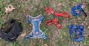 4 dog harnesses for sale, Small Medium and Large used for Sale in Belmont, NC