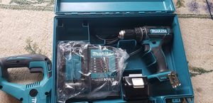 Makita 18v hammer drill new condition for Sale in Angier, NC