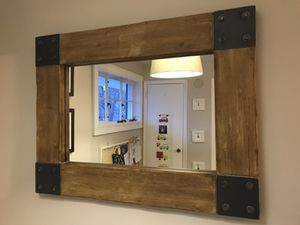 Driftwood and metal mirror for Sale in Alexandria, VA