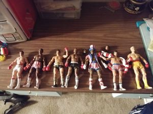 Rocky neca action figures lot for Sale in Stockton, CA
