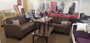 Complete 7 piece living room set for Sale in Dallas, TX