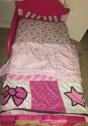 Hello Kitty Toddler Bed for Sale in Laurel, MD