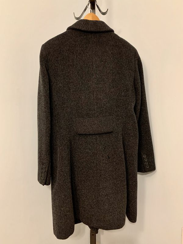 Anne Klein Women's 100% Wool Trench Coat, Size 12