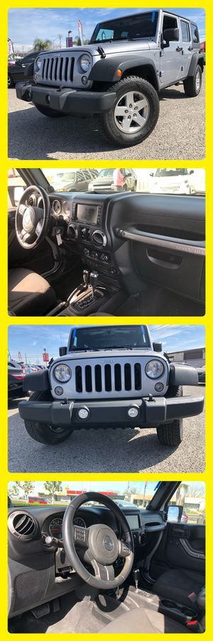 2014 JEEP WRANGLER UNLIMITED SPORT for Sale in Fresno, CA