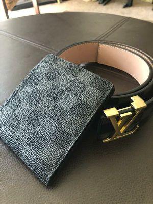 Men's wallet and belt for Sale in Fresno, CA