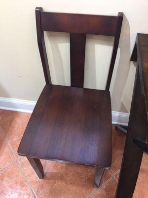 2 Solid mahogany wood chair for Sale in Atlanta, GA