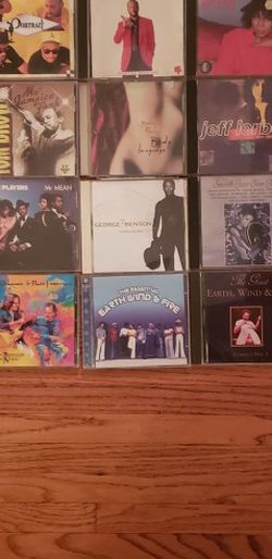 53 EXCELLENT CONDITION CD'S FOR SALE, MOSTLY R&B FROM THE ISLEY BROTHERS, LUTHER VANDROSS, MARC DORSEY, EARTH, WIND & FIRE, GEORGE BENSON, NAJEE, ETC  for Sale in Los Angeles, CA