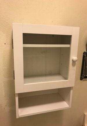 White storage cabinet for Sale in San Gabriel, CA