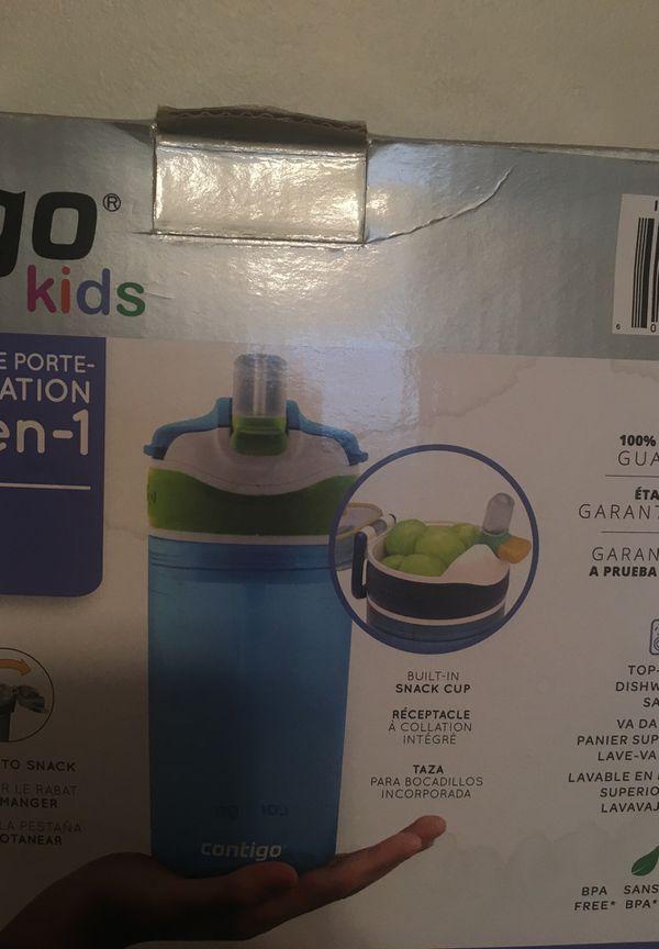 New Contigo Kids 2-in-1 water bottles