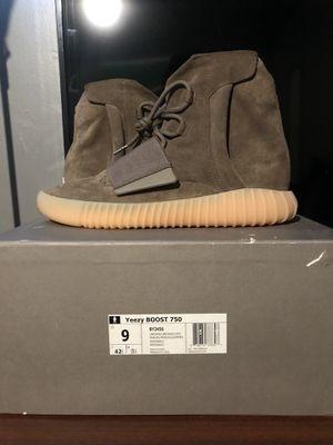 Yeezy boost 750 chocolate size 9 for Sale in Portland, OR